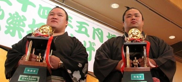 H24.5 夏場所     豪栄道関 殊勲賞(初) ☆横綱・3大関