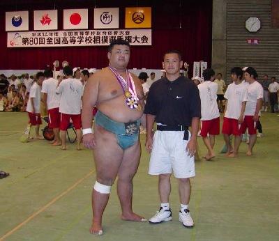 2001年度 高校横綱 市原孝行くん(元清瀬海)