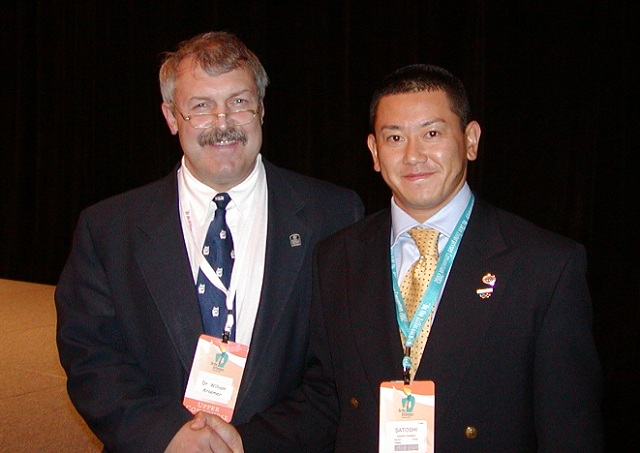 前NSCA会長 Dr.William Kraemer,Ph.D. 【Sports Scientist Award in 1992 and the NSCA's highest award】