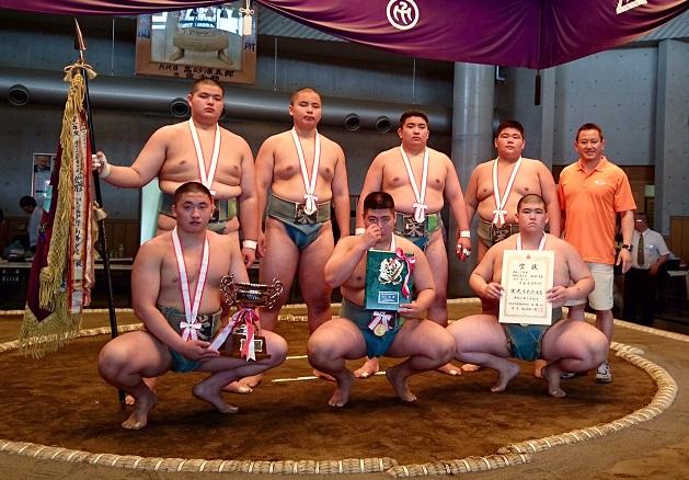 H27年度 関東高校相撲選手権大会 団体戦優勝 最多V20達成