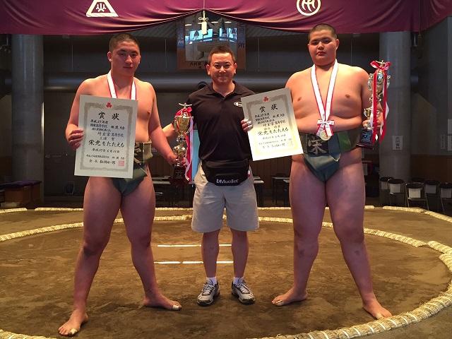 H27年度 関東高校相撲選手権大会 個人優勝 【重量級】&【無差別級】