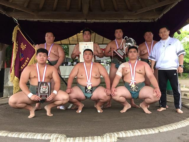 H30年度 関東高校相撲選手権大会 団体優勝 V23