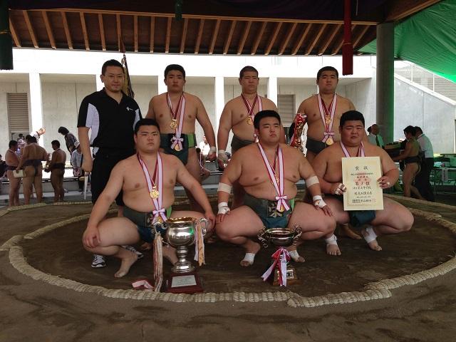 H25年度 関東高等学校相撲大会 団体優勝