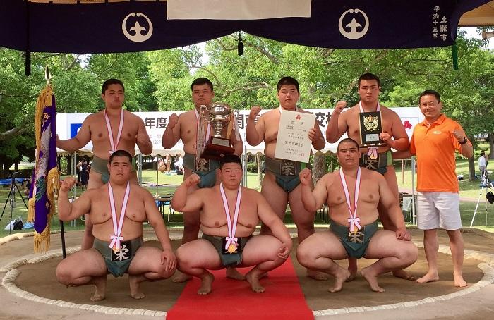 H29年度 関東高校相撲選手権大会 団体戦優勝 V22