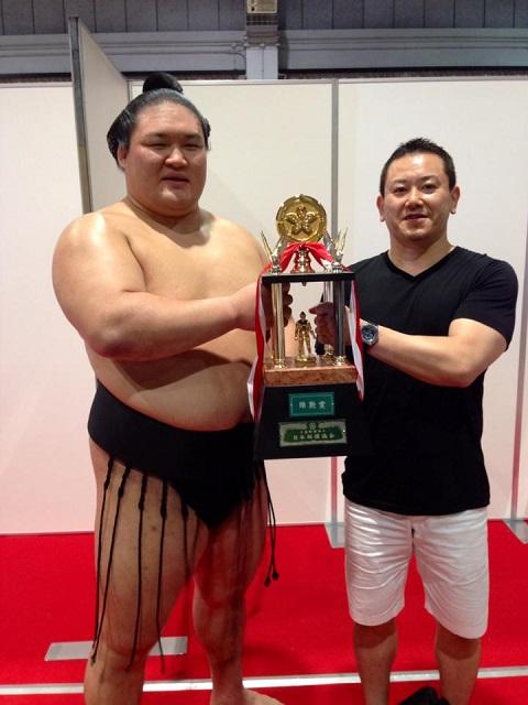 H26年 名古屋場所  祝!殊勲賞獲得&大関昇進決定