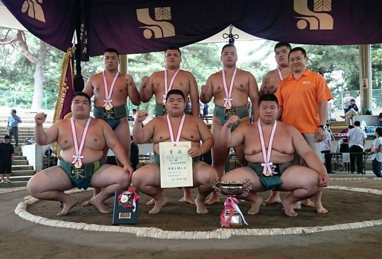 H28年度 関東高校相撲選手権大会 団体戦優勝 最多V21達成