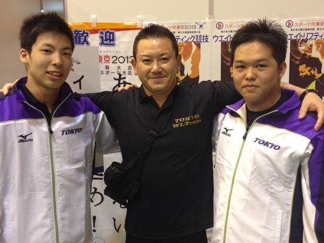 少年の部 全選手入賞  69kg級 第3位・94kg級 準優勝・+105kg級 第3位